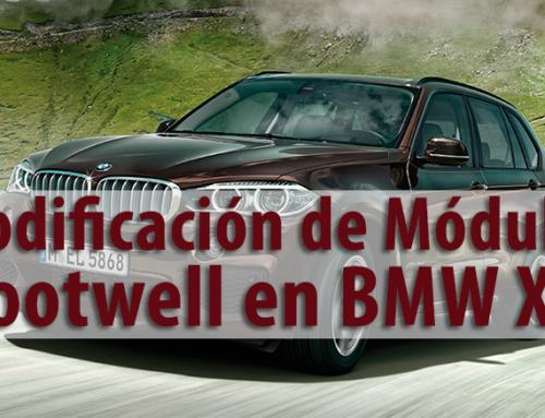 Codificación de Módulo Footwell en BMW X5    [Sesión #14]